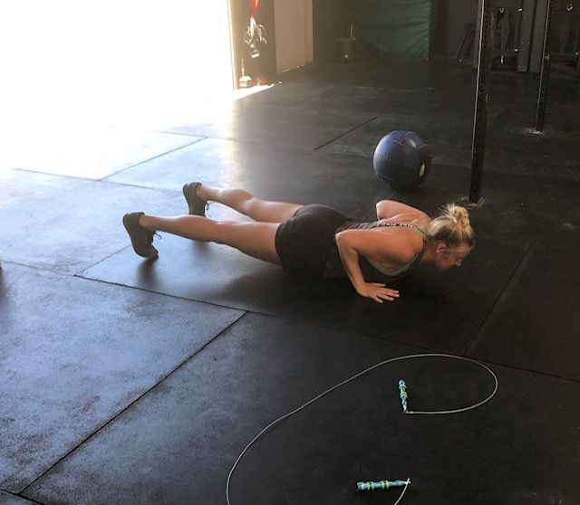 Workout: Monday 08/10/2020