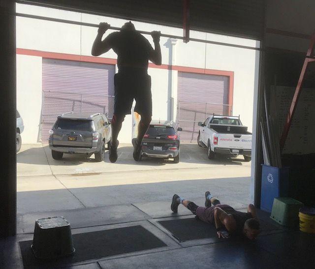 Workout: Monday 10/18/2021