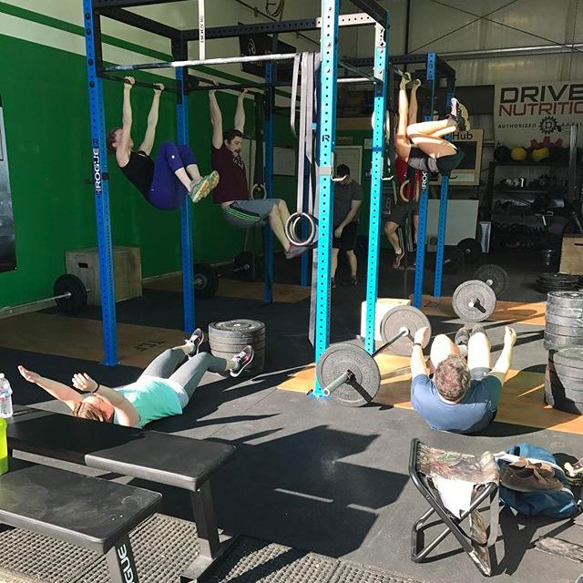 gym members working out at Tongass Fitness
