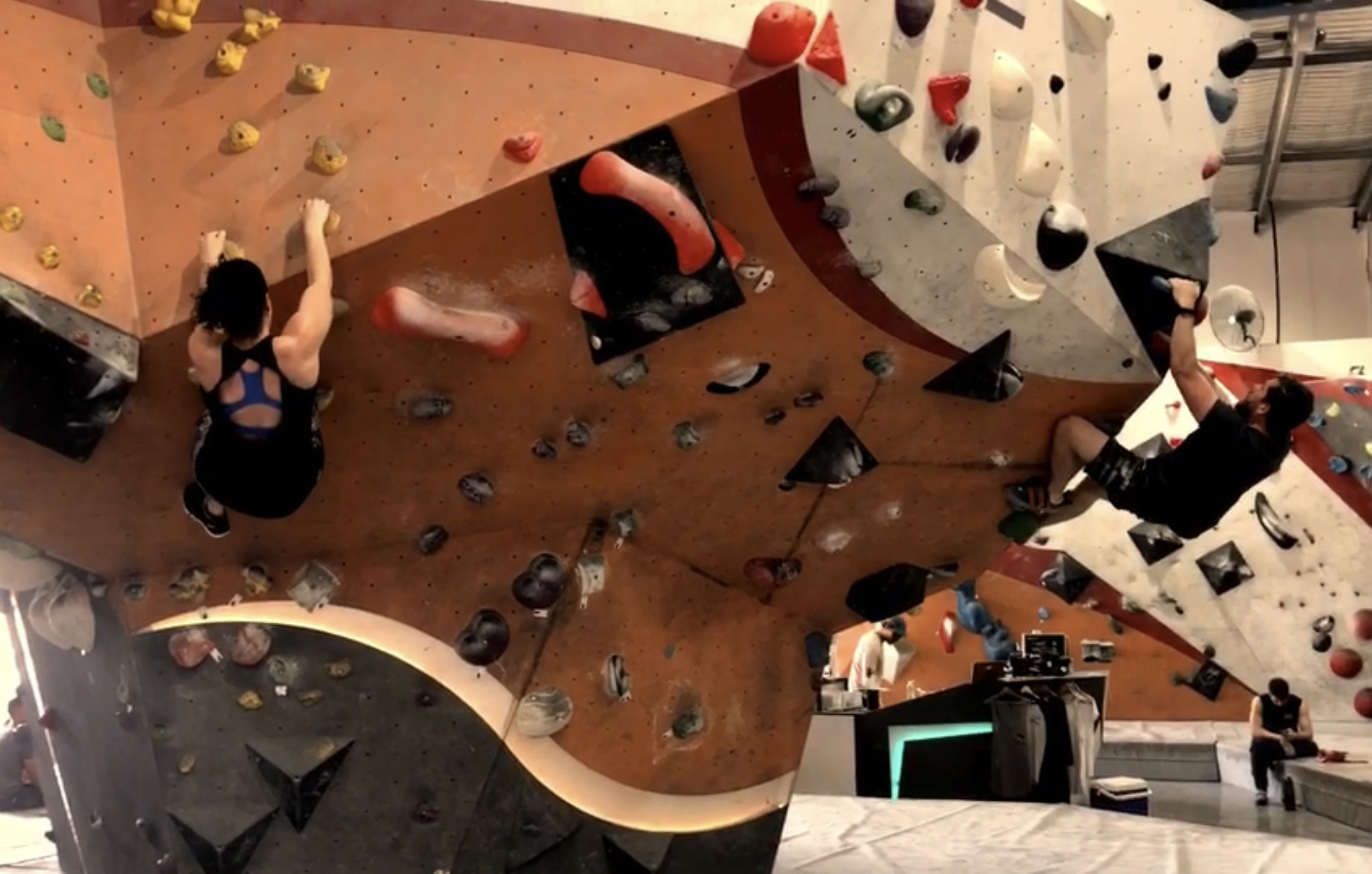 CrossFitters go Bouldering.