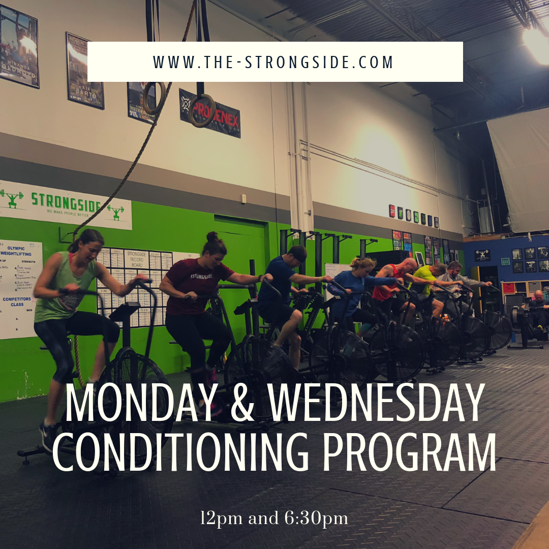 Strongside Conditioning Program: April 15th – 20th 2019