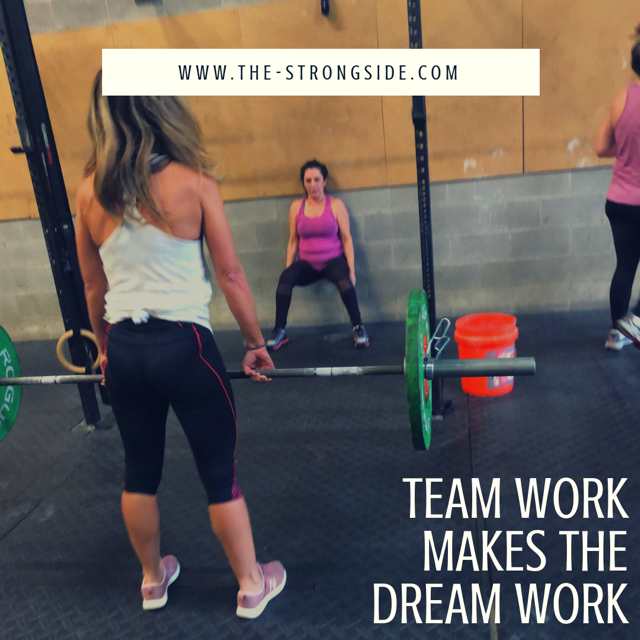 Strongside W.O.D. Program: July 1st To 6th 2019
