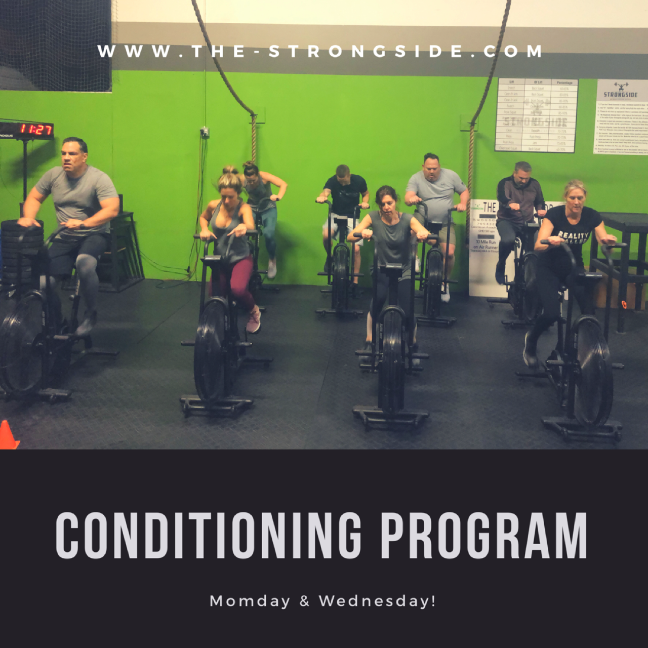 Strongside Conditioning Program: June 24th To 29th 2019