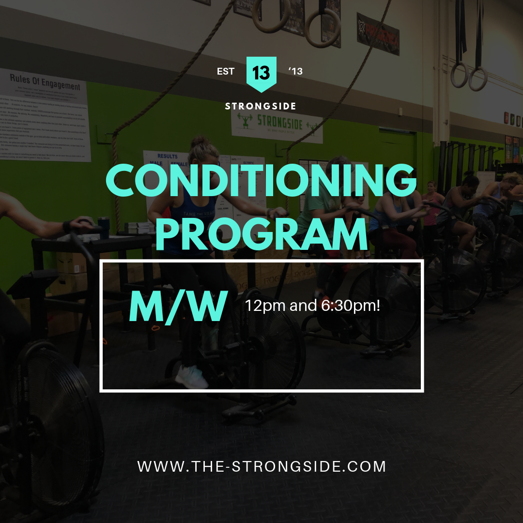 Conditioning Program – February 25th to March 2nd 2019