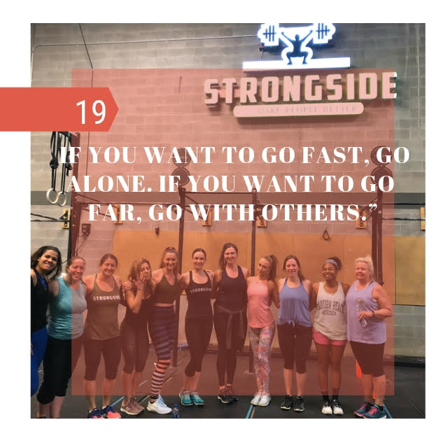 WOD Program – March 18th to 23rd 2019