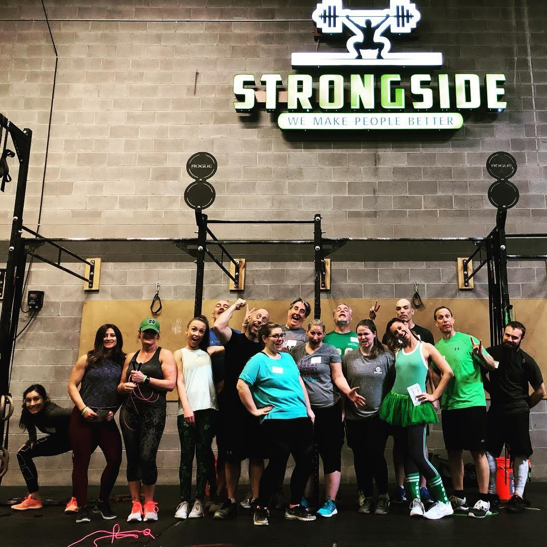 Strongside W.O.D. Program: April 22nd – 27th 2019