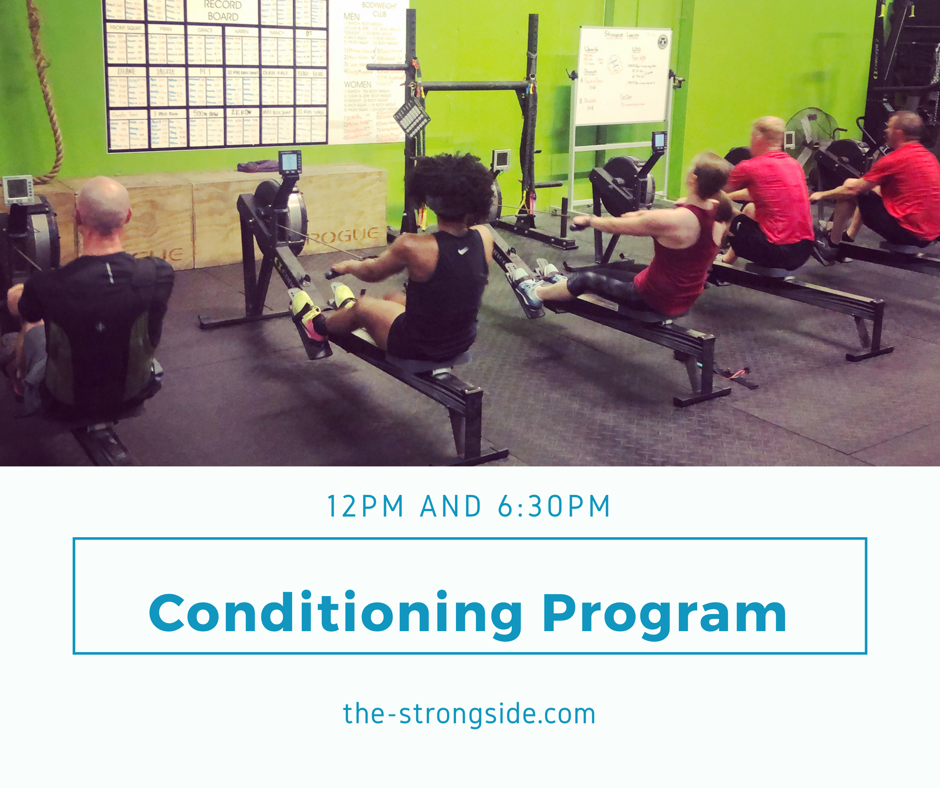 Strongside Conditioning Program: June 10th to June 15th 2019