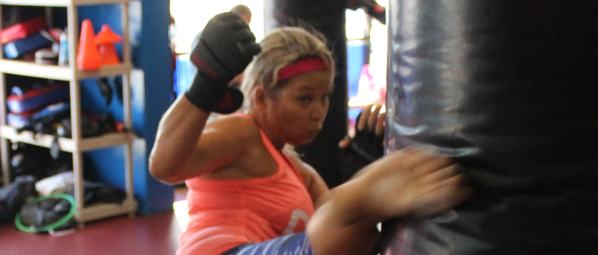 Kick Boxing Class – Fighter Fit