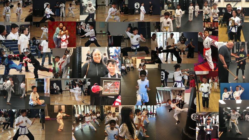 kokua martial arts member collage