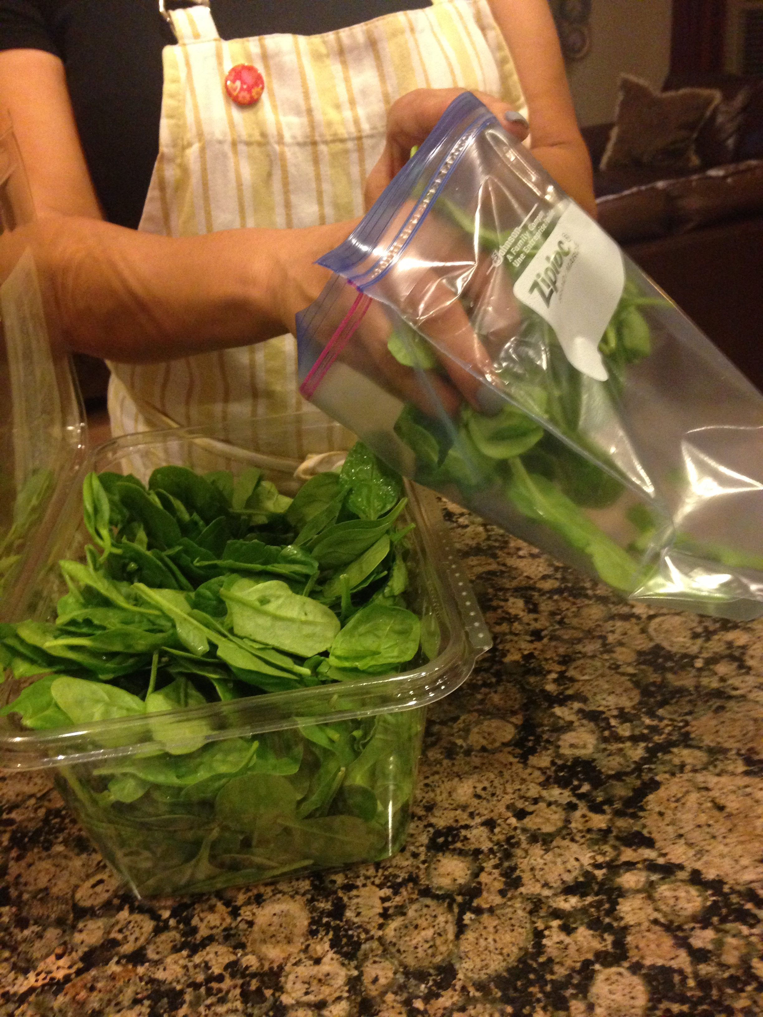 How to Save Your Spinach!