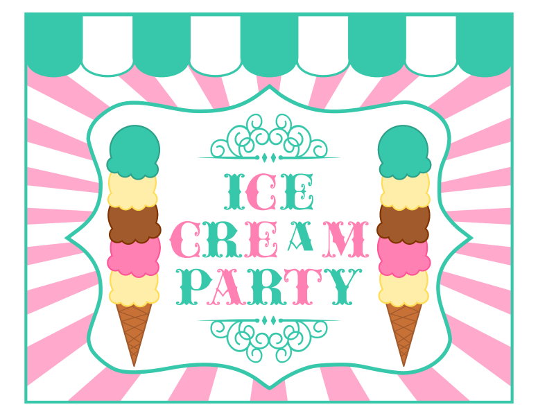 Ice Cream & Weapons Party