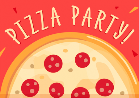 Valentine's Day Kids Pizza Party!