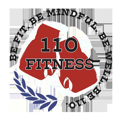 110 Fitness Logo