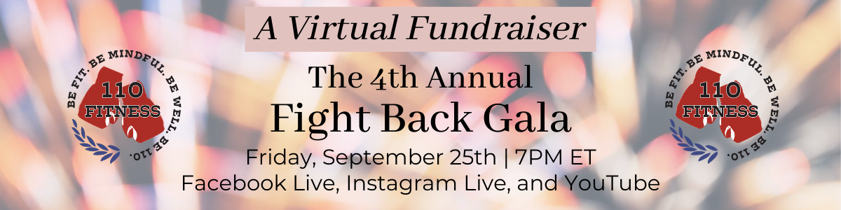 4th annual fight back gala banner