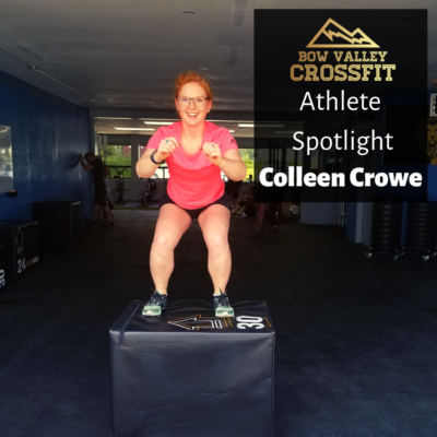 Athlete Spotlight – Colleen Crowe
