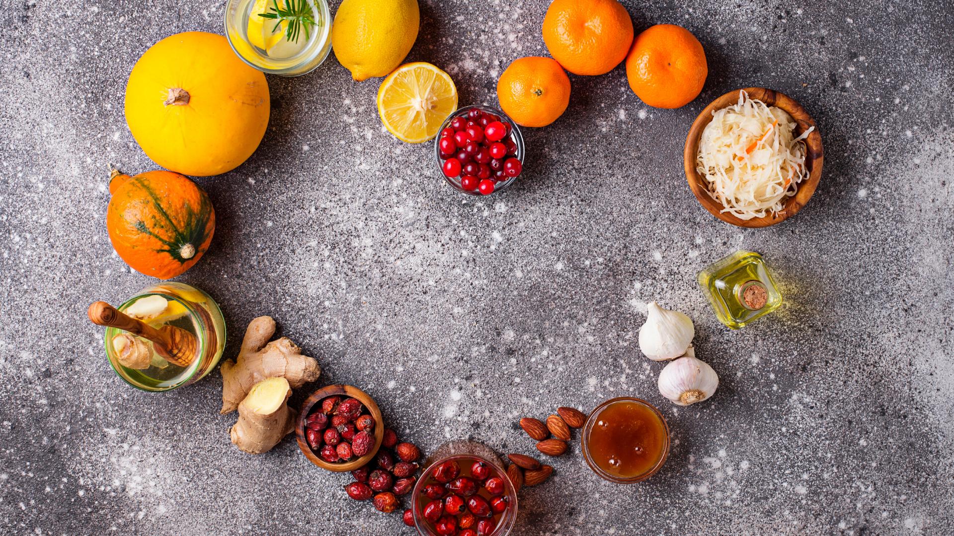😀 5 Immune Boosting Nutrients