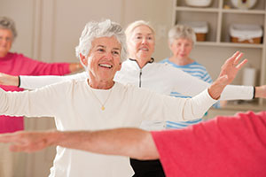 For active adults, group fitness classes provide fitness motivation and a friendly atmosphere