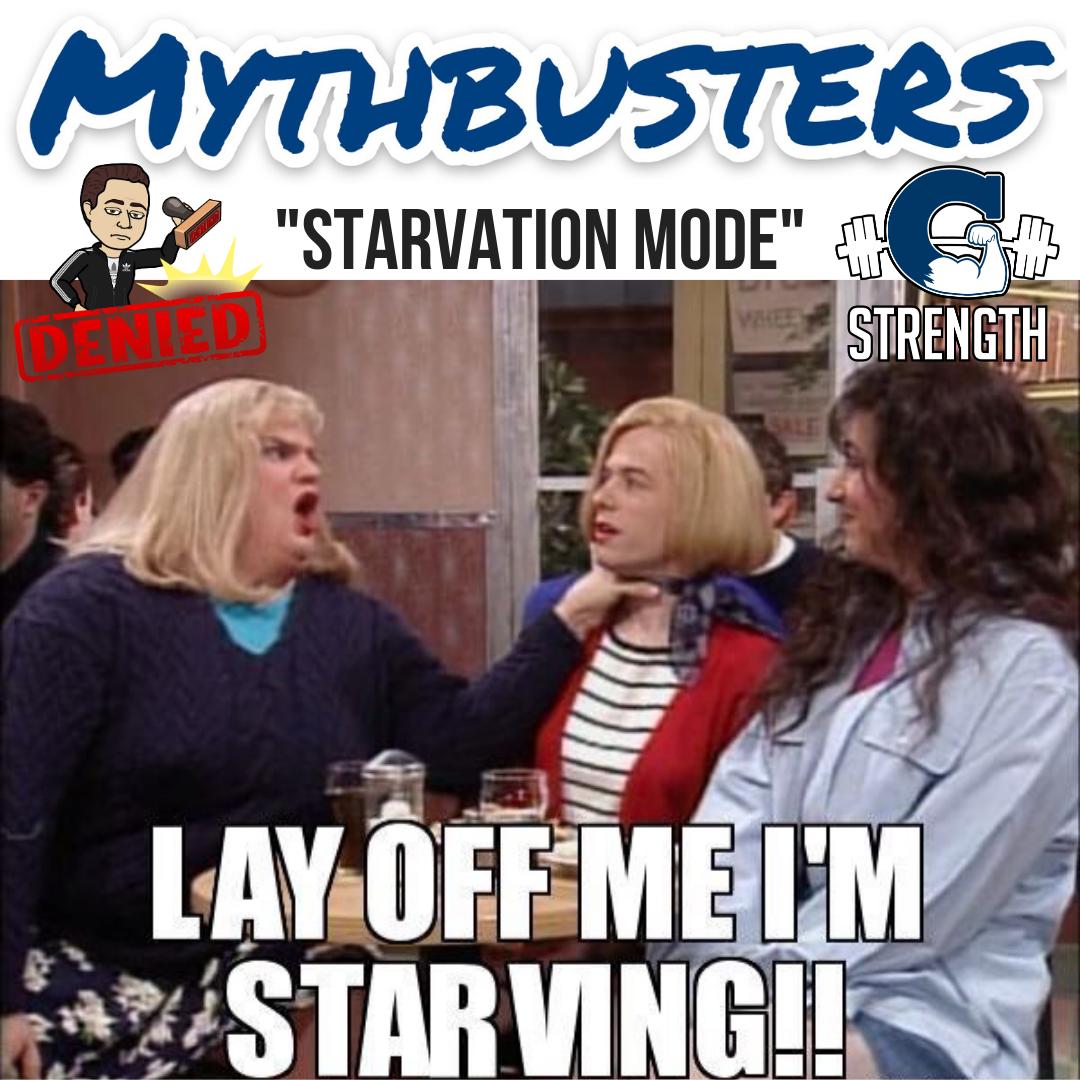"""Mythbusters #15 – """"Starvation Mode"""""""