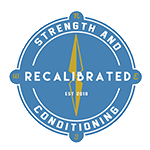 Recalibrated Strength and Conditioning Logo