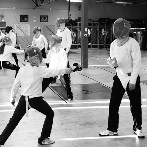 Homeschool Fencing