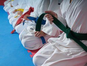 Fall into Taekwondo