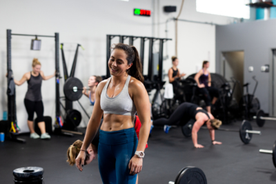 Maysa Hannawi at Rhapsody CrossFit in Charleston, SC.