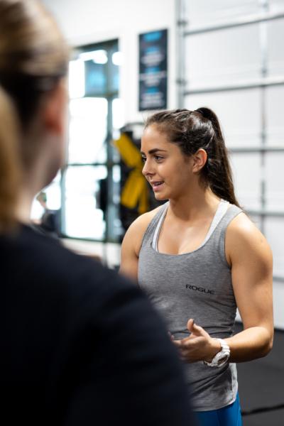 Maysa Hannawi at Rhapsody CrossFit in Charleston, SC.