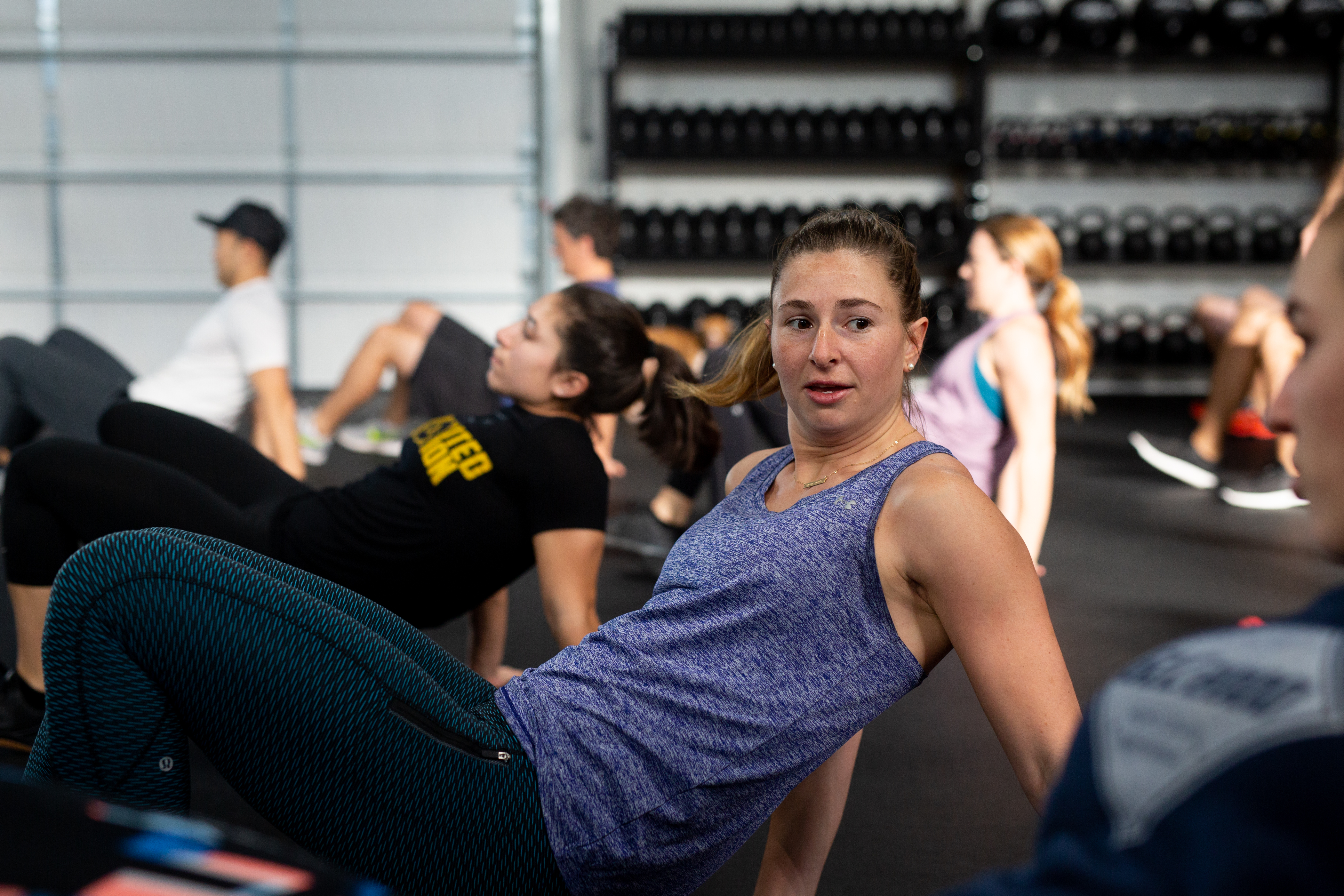 My Rhapsody: Kim Schneider Starts Her Days Right With Rhapsody CrossFit