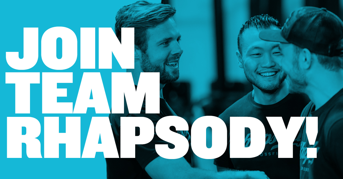 Join Team Rhapsody In Charleston, SC!