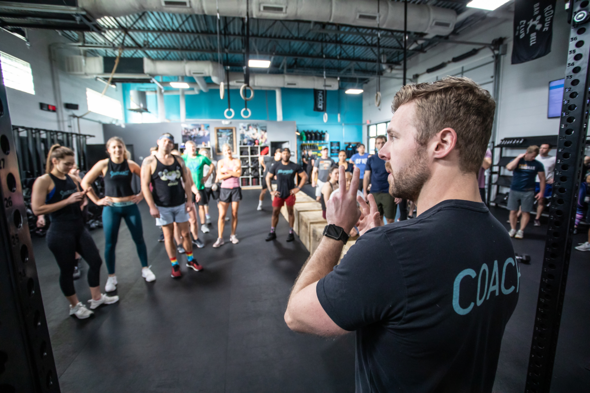 Rhapsody CrossFit in Charleston, SC.