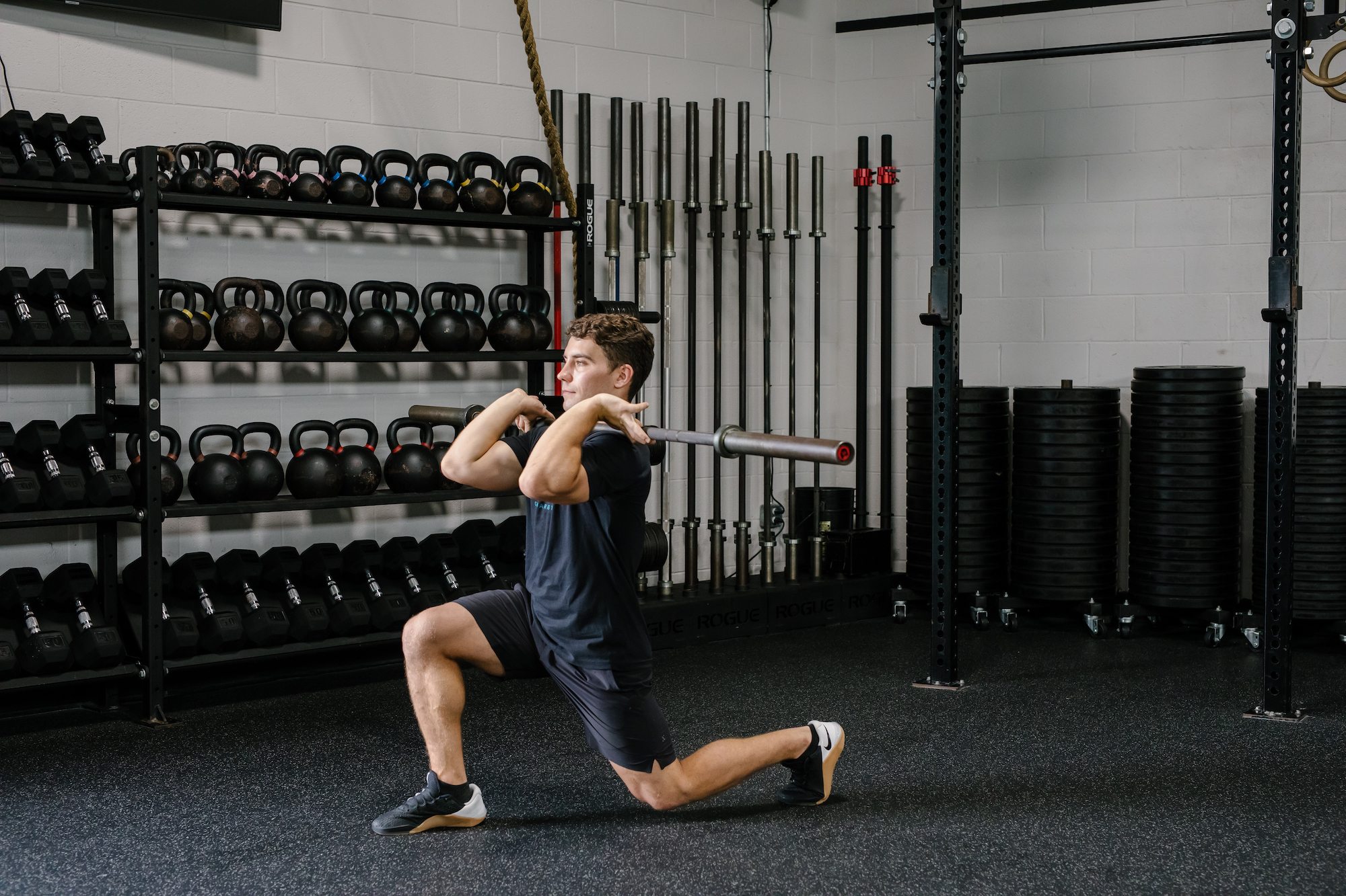 Points of Performance: The Front Rack Lunge