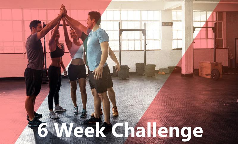6 Week Challenge Registrations Now Open!