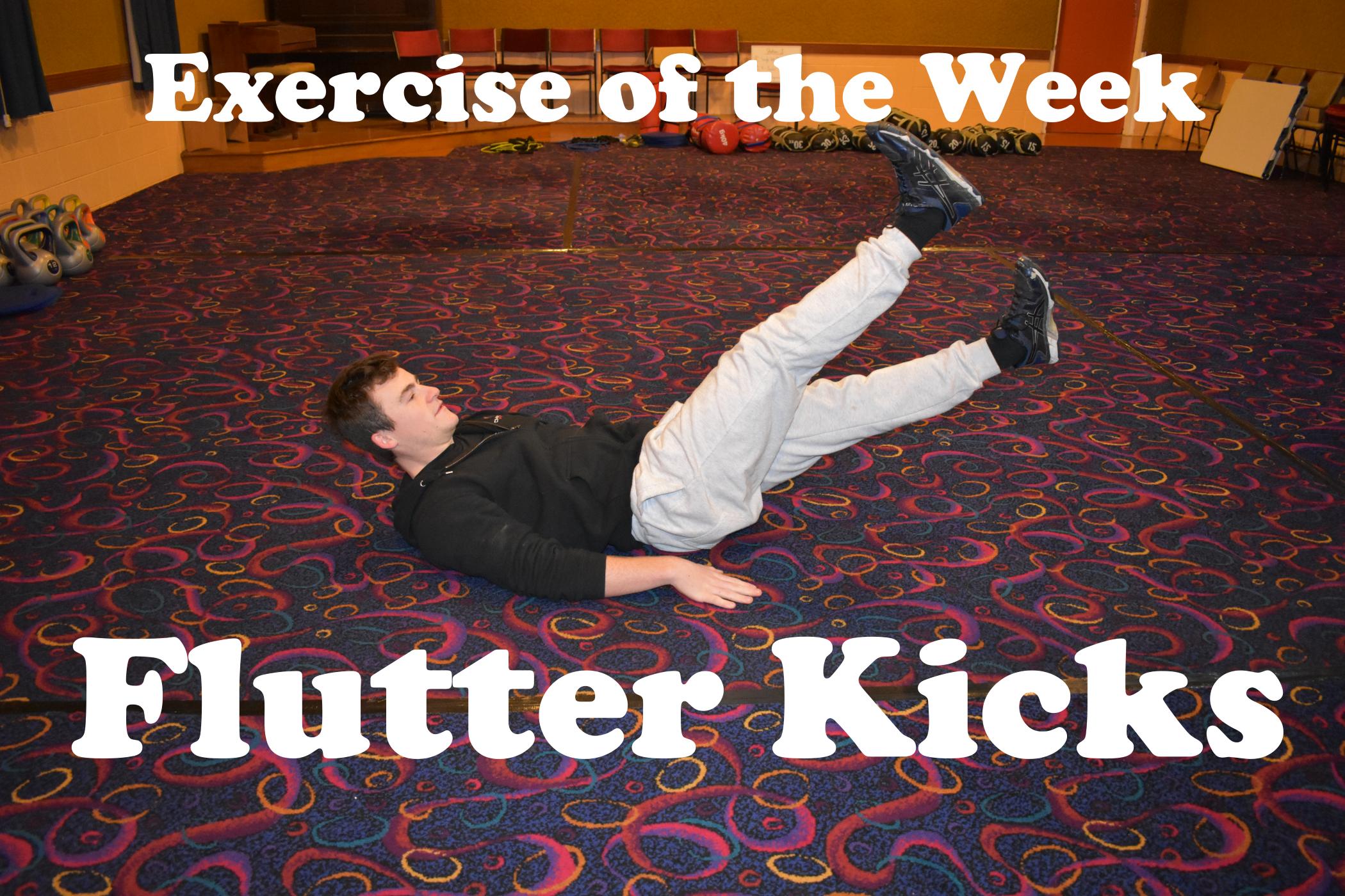 Exercise of the Week: Flutter Kicks