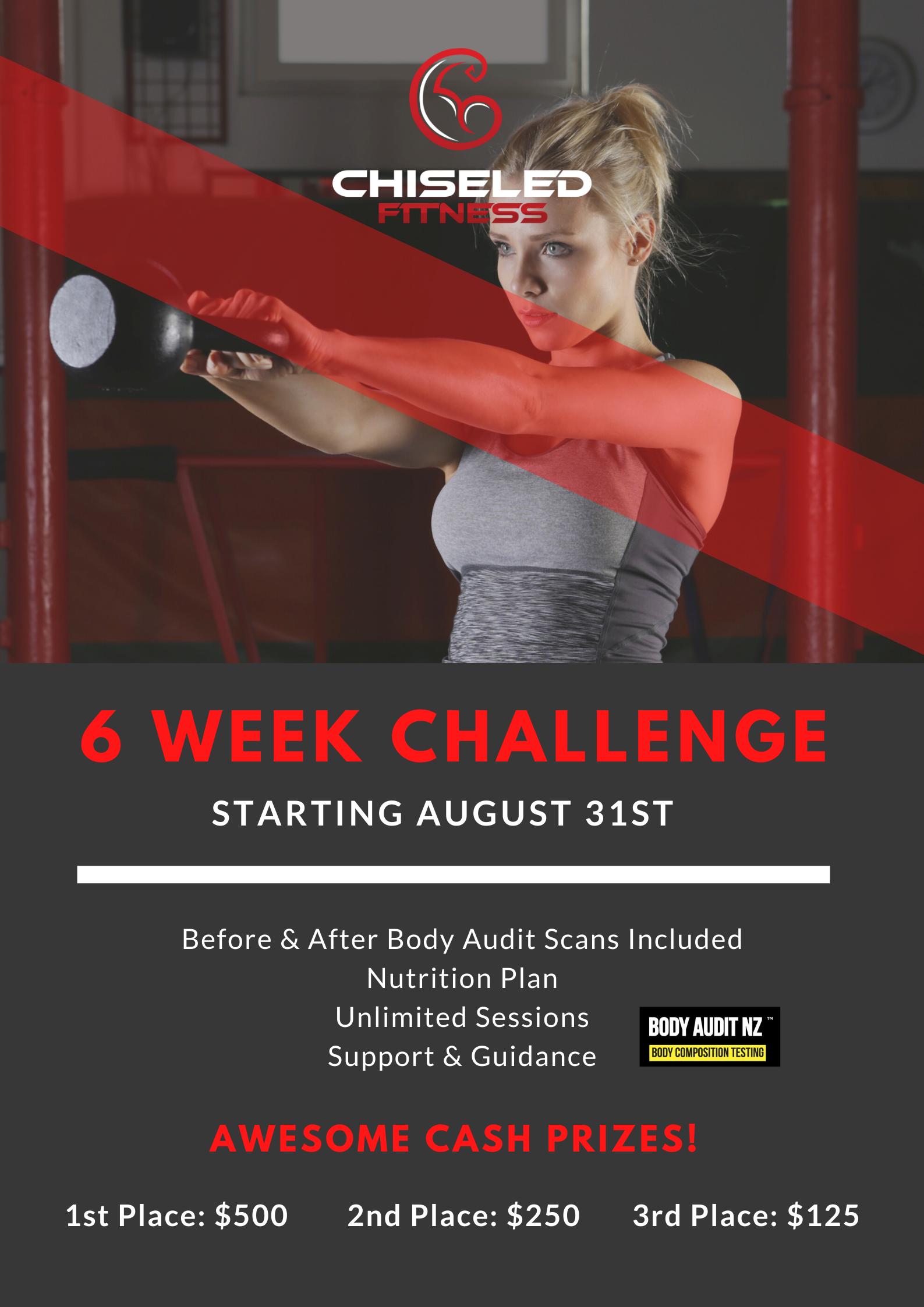 6 Week Transformation Challenge 2020