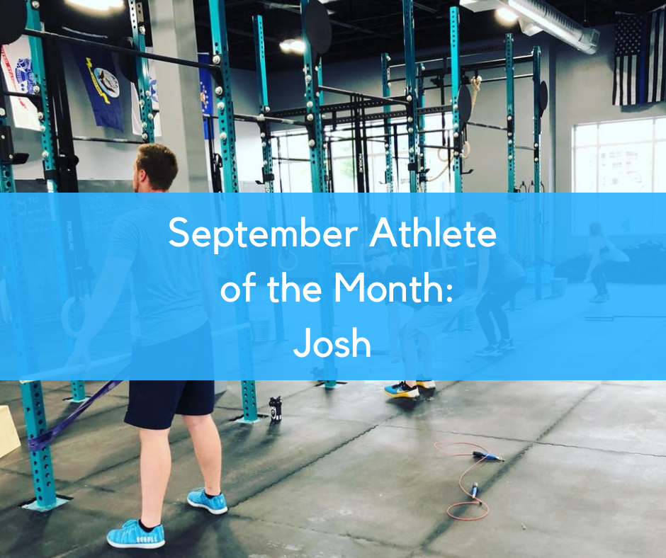 September Athlete of the Month: Josh