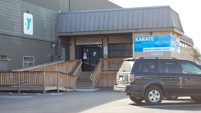 ymca karate and gymnastics building