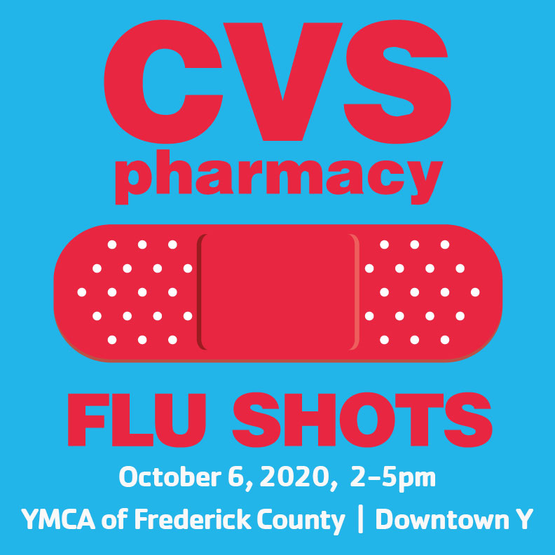 flu shot graphic for CVS with bandaid