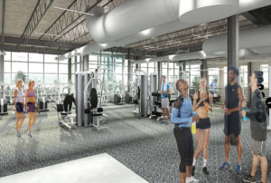 south county fitness center rendering