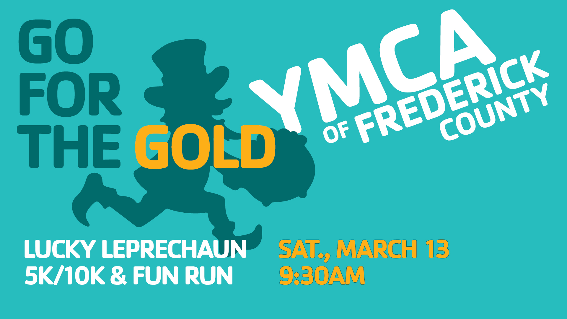 lucky leprechaun race graphic