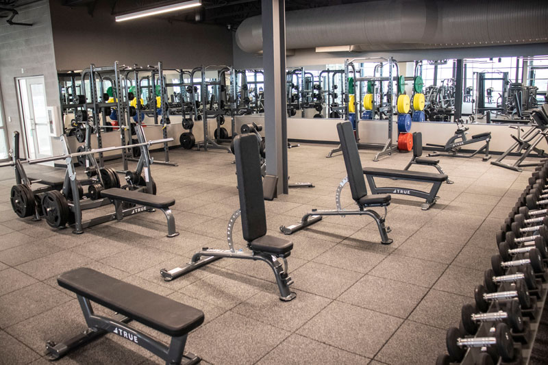 South county family ymca free weights