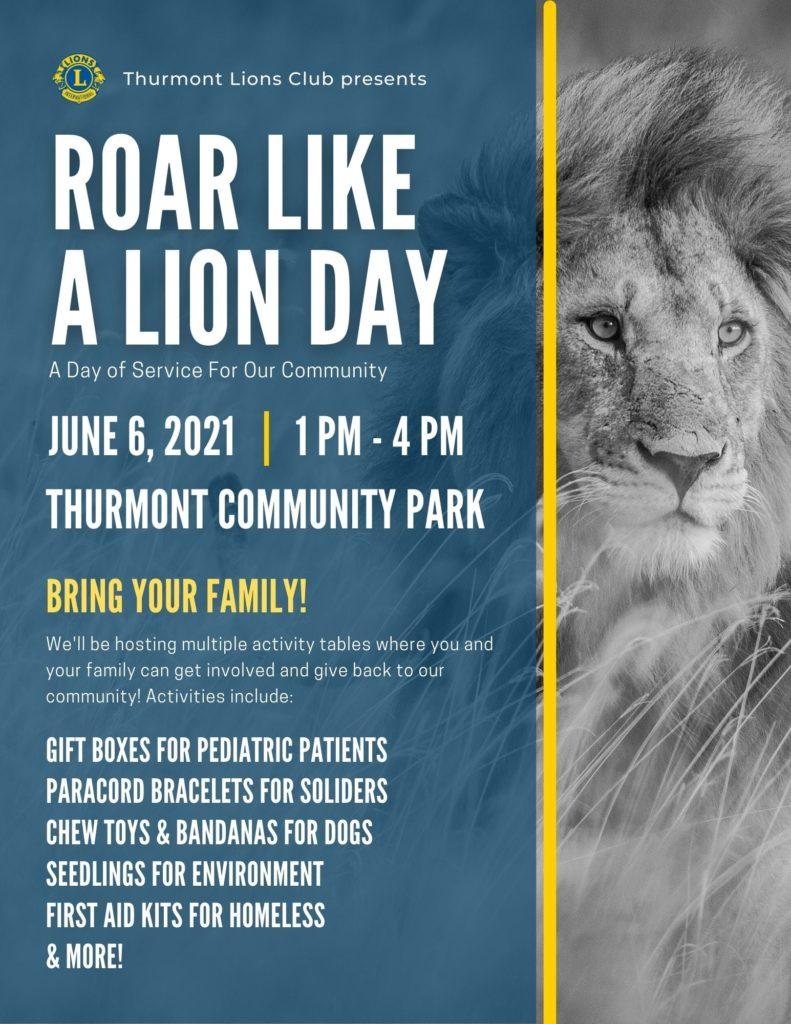 Roar Like a Lion Day