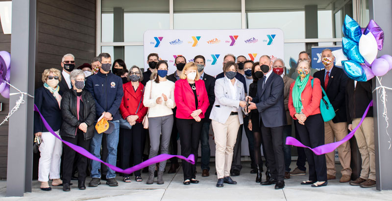 south county family ribbon cutting ceremony