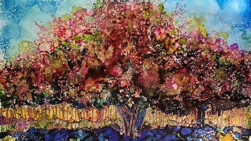 bloom art exhibit Lisa Sheirer