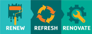 renew refresh and renovate icons