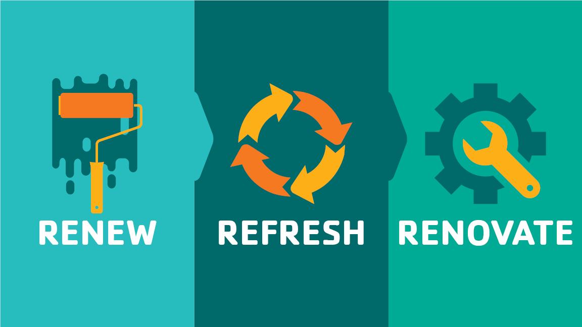 renew refresh renovate