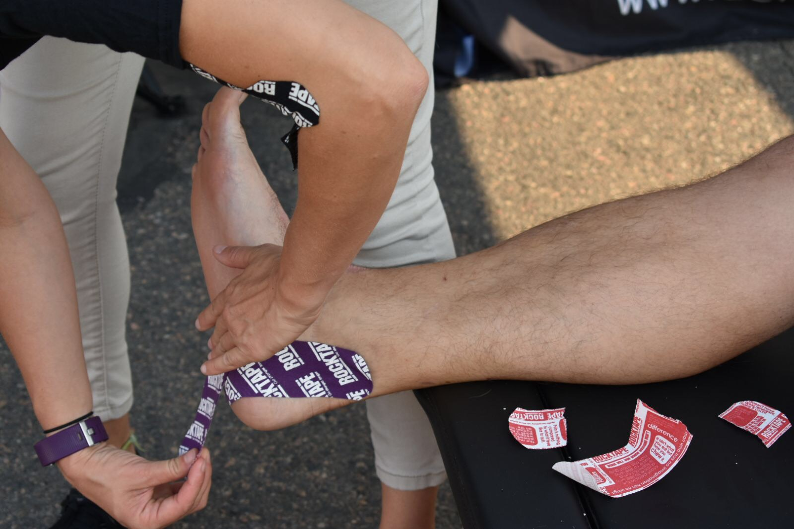 Kinesiology Tape: It's what the Olympians Wear