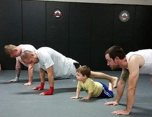 Practicing Martial Arts as a Family