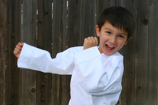 Building Confidence With Martial Arts