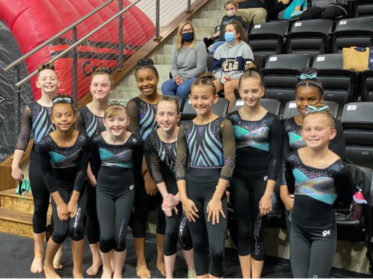 Summerville Family YMCA Gymnastics Team