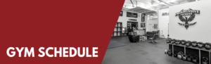 PFCF Gym Schedule